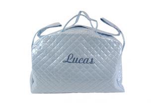 Bolsa de maternidad plastificada con bordado personalizable