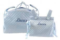 Bolsa de maternidad y bolsa panadera plastificadas